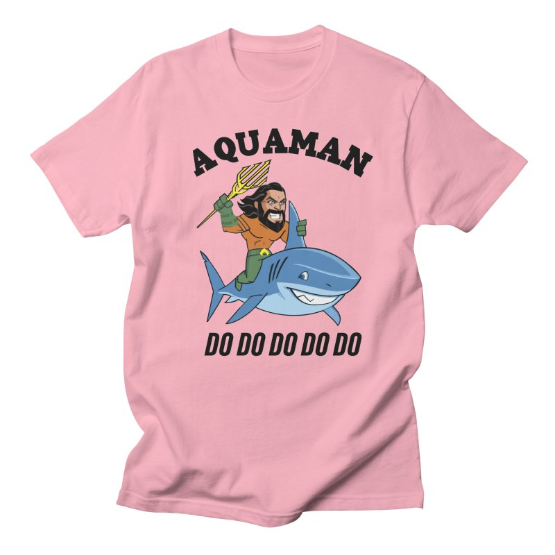 Aquaman do do do Men's Regular T-Shirt by daniac's Artist Shop