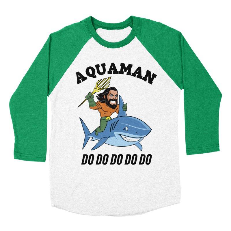 Aquaman do do do Men's Baseball Triblend Longsleeve T-Shirt by daniac's Artist Shop