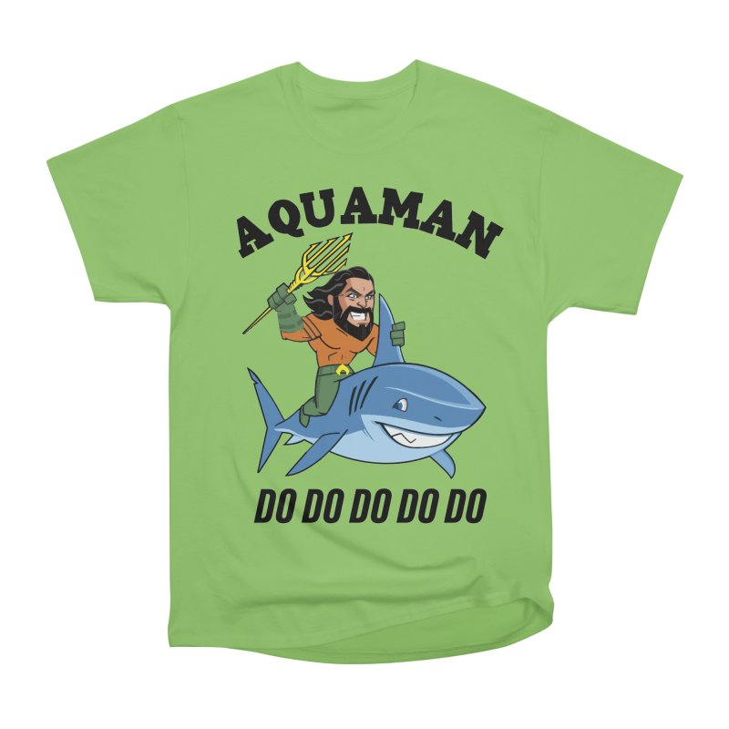 Aquaman do do do Men's Heavyweight T-Shirt by daniac's Artist Shop