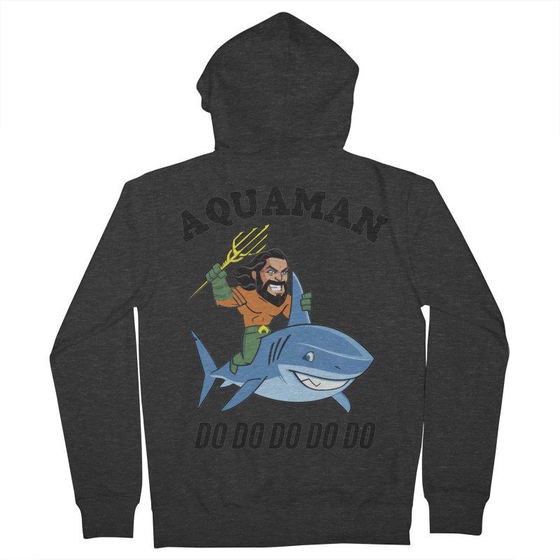 Aquaman do do do Women's French Terry Zip-Up Hoody by daniac's Artist Shop