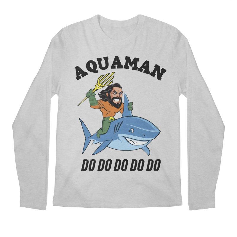 Aquaman do do do Men's Regular Longsleeve T-Shirt by daniac's Artist Shop