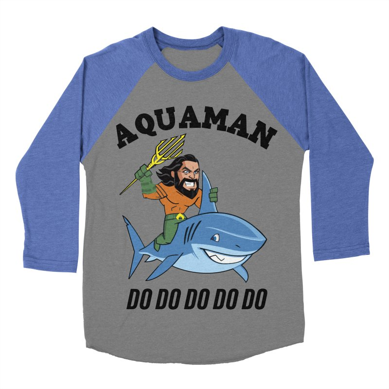 Aquaman do do do Women's Baseball Triblend Longsleeve T-Shirt by daniac's Artist Shop