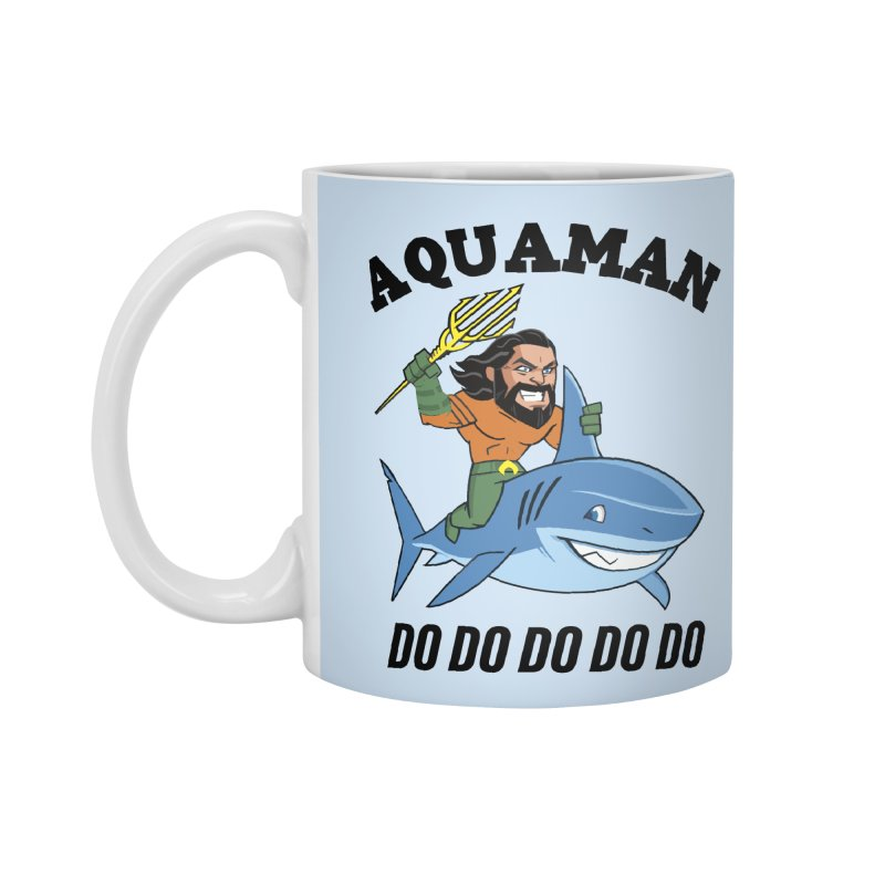 Aquaman do do do Accessories Standard Mug by daniac's Artist Shop