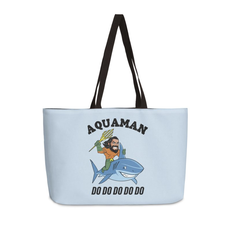 Aquaman do do do Accessories Weekender Bag Bag by daniac's Artist Shop