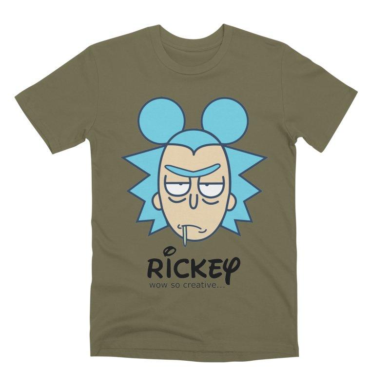 Rickey Sanchez Men's Premium T-Shirt by daniac's Artist Shop