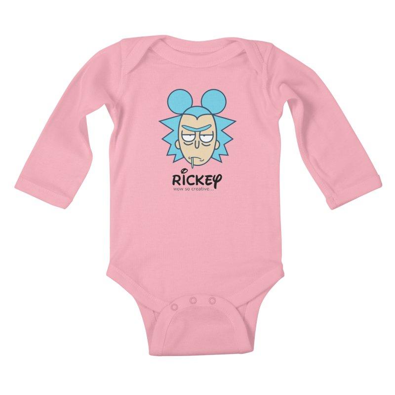 Rickey Sanchez Kids Baby Longsleeve Bodysuit by daniac's Artist Shop