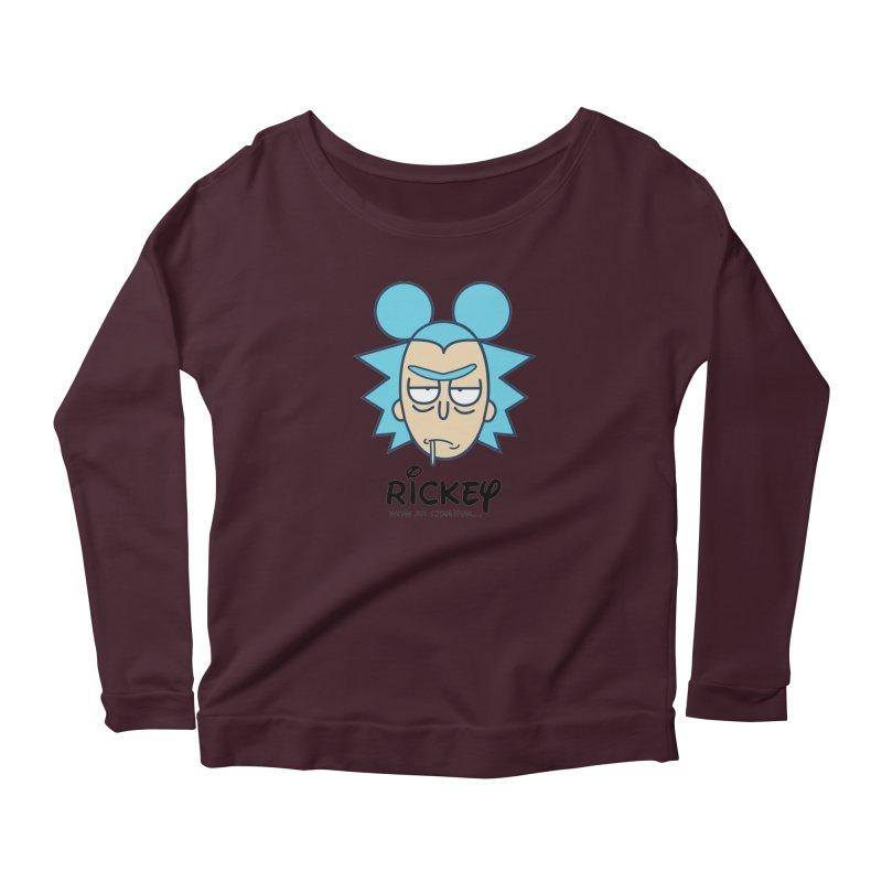 Rickey Sanchez Women's Longsleeve T-Shirt by daniac's Artist Shop