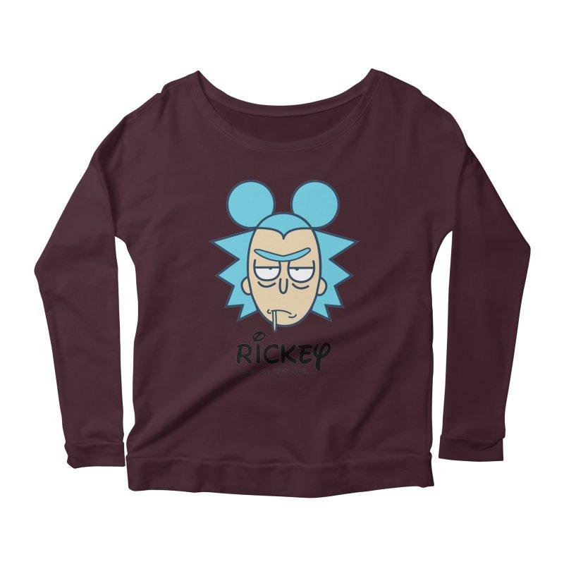Rickey Sanchez Women's Scoop Neck Longsleeve T-Shirt by daniac's Artist Shop