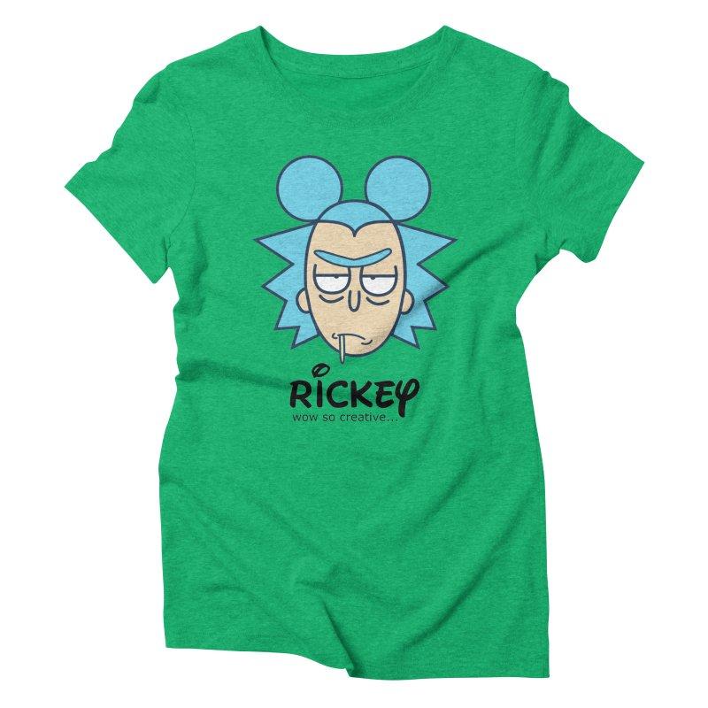 Rickey Sanchez Women's Triblend T-Shirt by daniac's Artist Shop