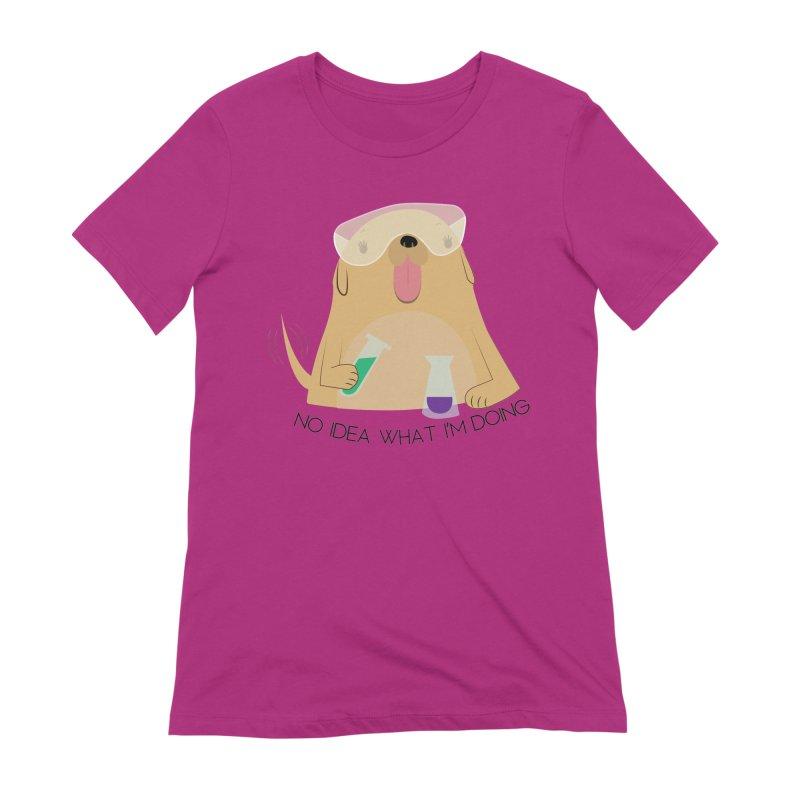 No idea Women's Extra Soft T-Shirt by daniac's Artist Shop