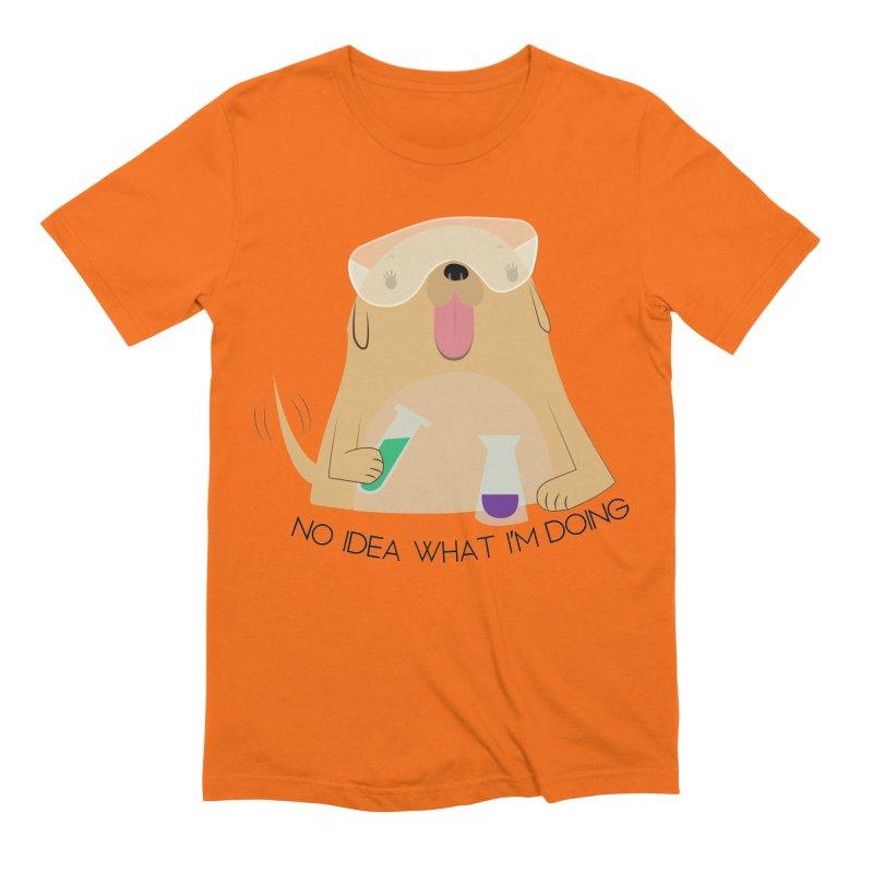 No idea Men's Extra Soft T-Shirt by daniac's Artist Shop