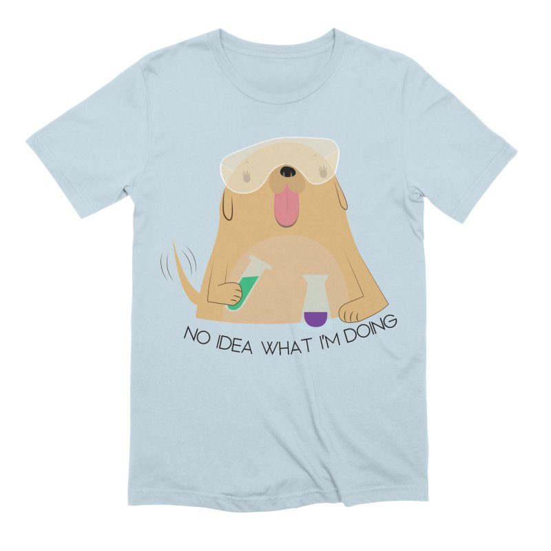 No idea Men's Extra Soft T-Shirt by daniac's Artist Shop