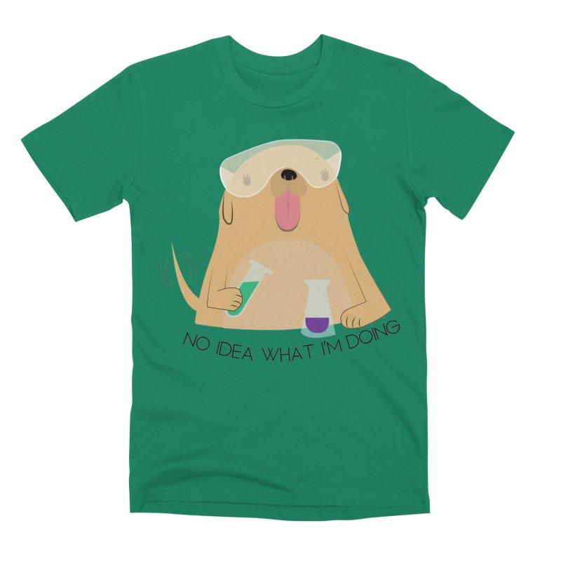 No idea Men's Premium T-Shirt by daniac's Artist Shop
