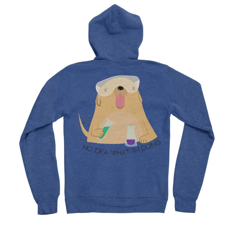 No idea Men's Sponge Fleece Zip-Up Hoody by daniac's Artist Shop