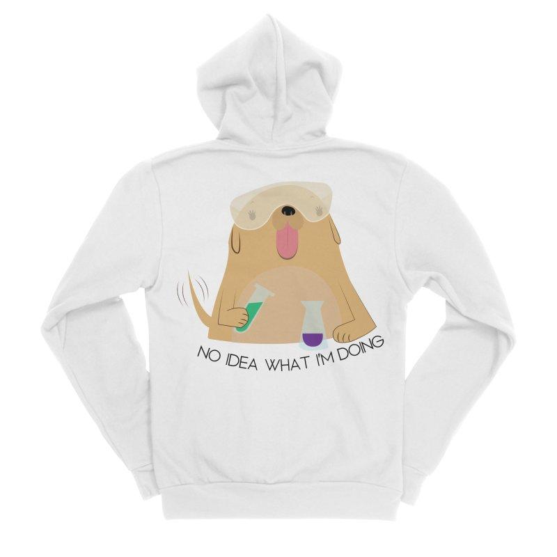 No idea Women's Sponge Fleece Zip-Up Hoody by daniac's Artist Shop