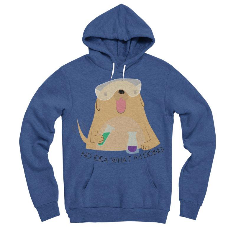 No idea Men's Sponge Fleece Pullover Hoody by daniac's Artist Shop