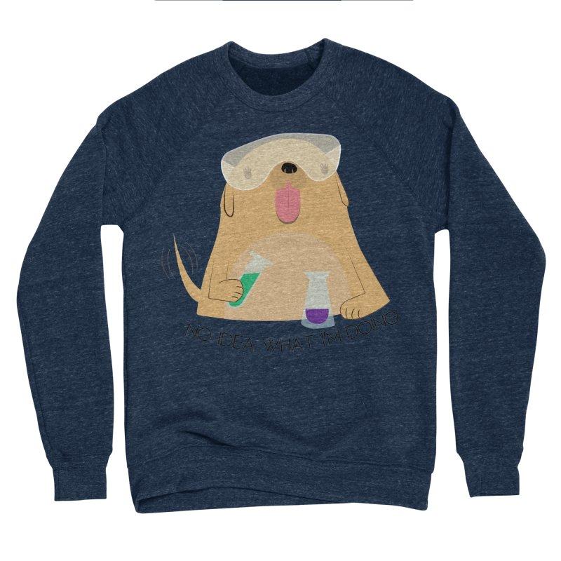 No idea Men's Sponge Fleece Sweatshirt by daniac's Artist Shop