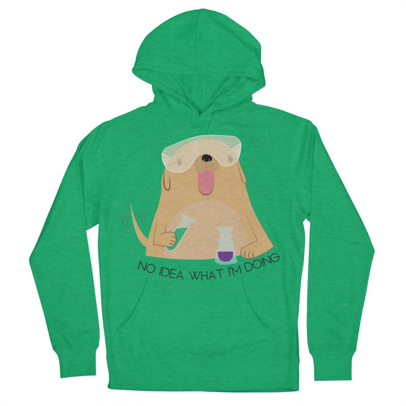 No idea Women's French Terry Pullover Hoody by daniac's Artist Shop