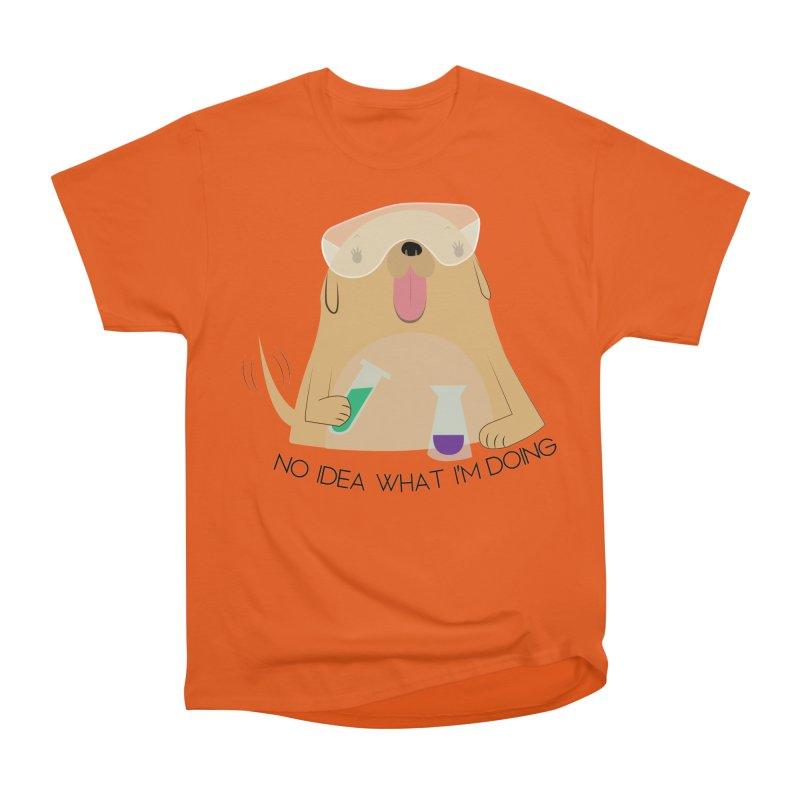 No idea Men's Heavyweight T-Shirt by daniac's Artist Shop
