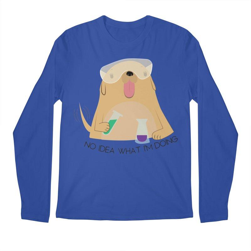 No idea Men's Regular Longsleeve T-Shirt by daniac's Artist Shop