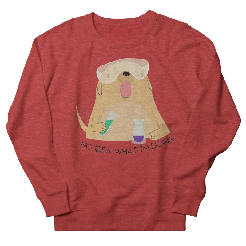 No idea Men's French Terry Sweatshirt by daniac's Artist Shop