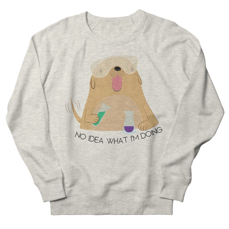 No idea Men's French Terry Sweatshirt by daniac's Artist Shop