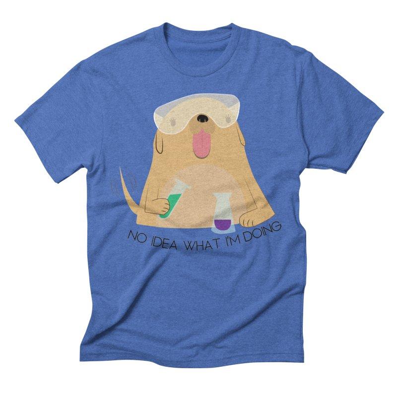 No idea Men's Triblend T-Shirt by daniac's Artist Shop