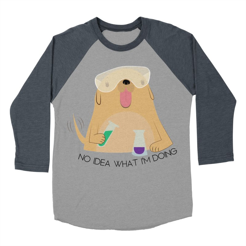 No idea Women's Baseball Triblend Longsleeve T-Shirt by daniac's Artist Shop