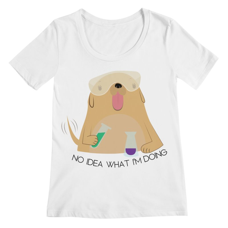 No idea Women's Regular Scoop Neck by daniac's Artist Shop