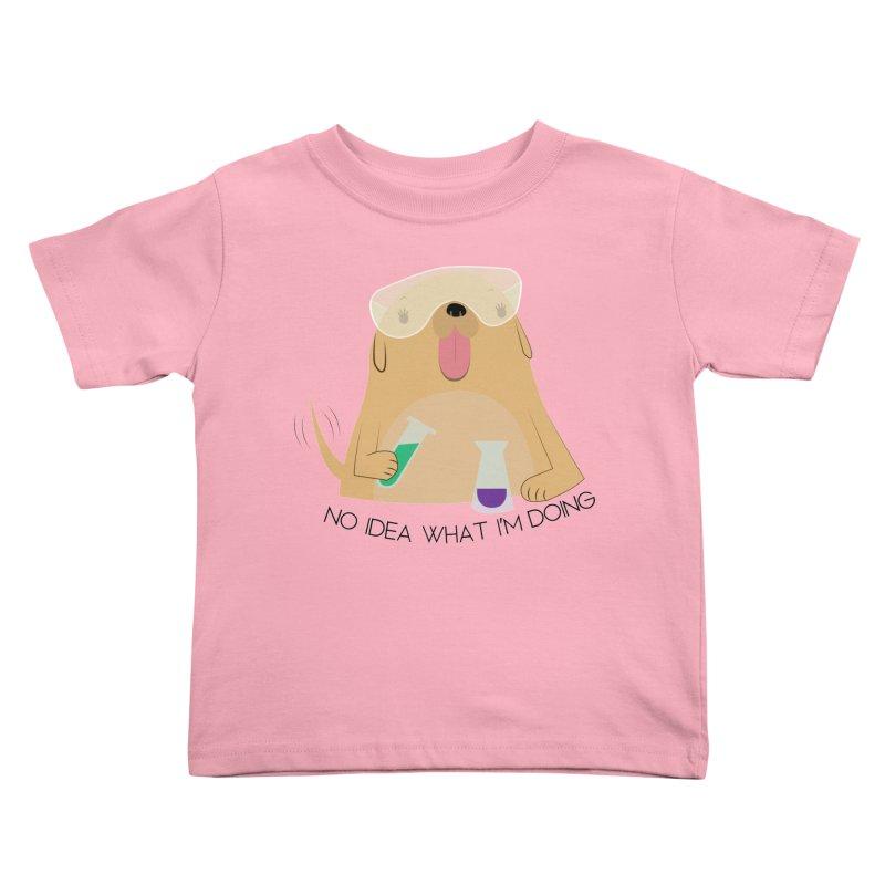 No idea Kids Toddler T-Shirt by daniac's Artist Shop