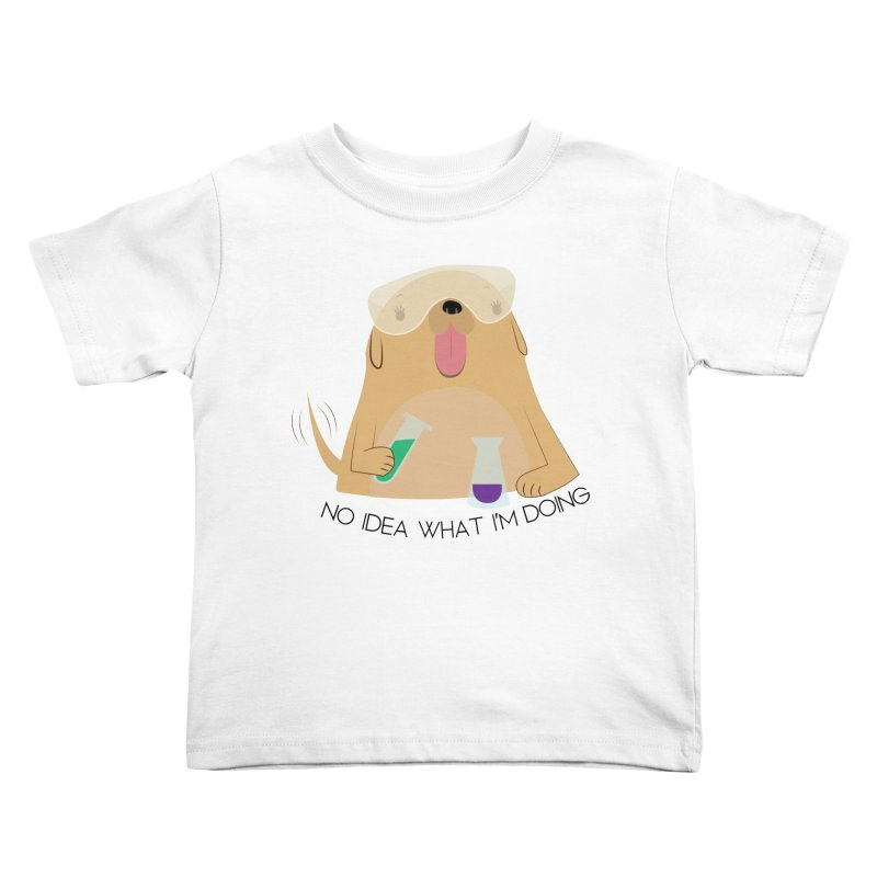 No idea Kids Toddler T-Shirt by daniac's Artist Shop