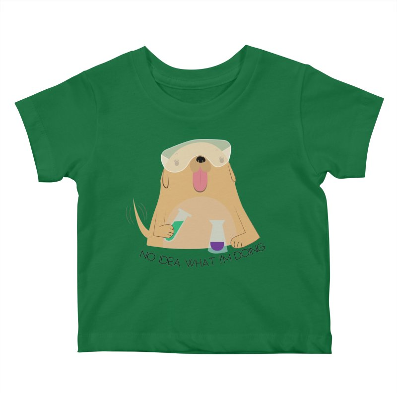 No idea Kids Baby T-Shirt by daniac's Artist Shop