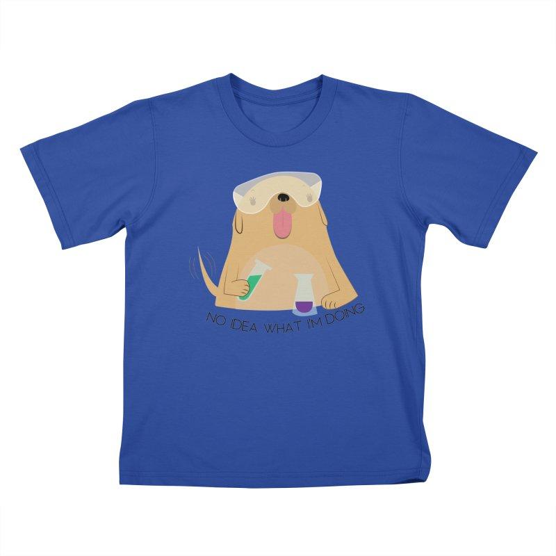No idea Kids T-Shirt by daniac's Artist Shop