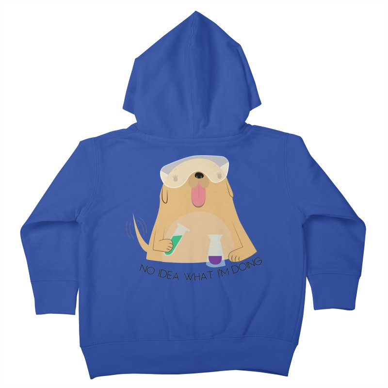 No idea Kids Toddler Zip-Up Hoody by daniac's Artist Shop