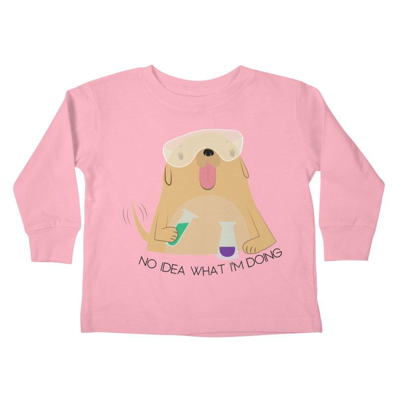 No idea Kids Toddler Longsleeve T-Shirt by daniac's Artist Shop