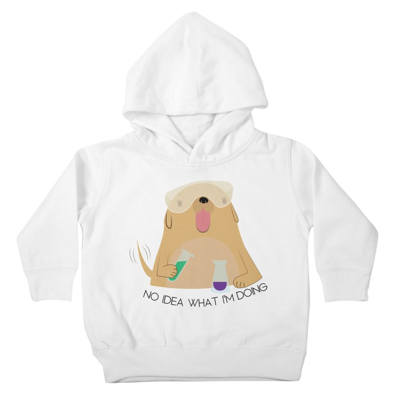 No idea Kids Toddler Pullover Hoody by daniac's Artist Shop