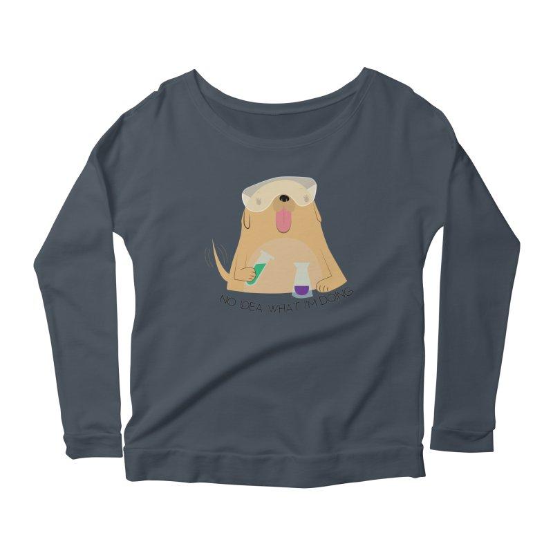 No idea Women's Scoop Neck Longsleeve T-Shirt by daniac's Artist Shop