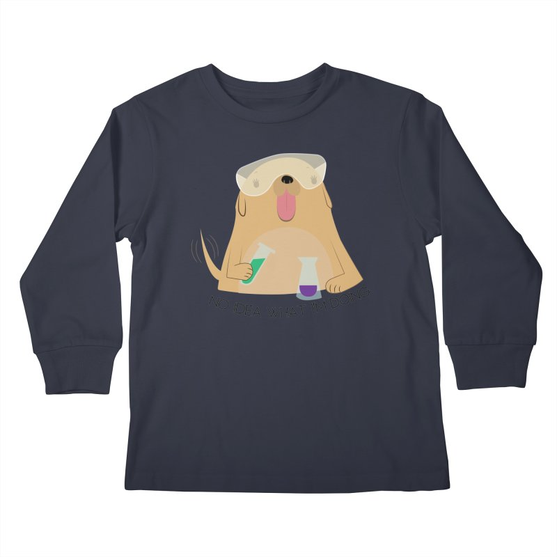 No idea Kids Longsleeve T-Shirt by daniac's Artist Shop