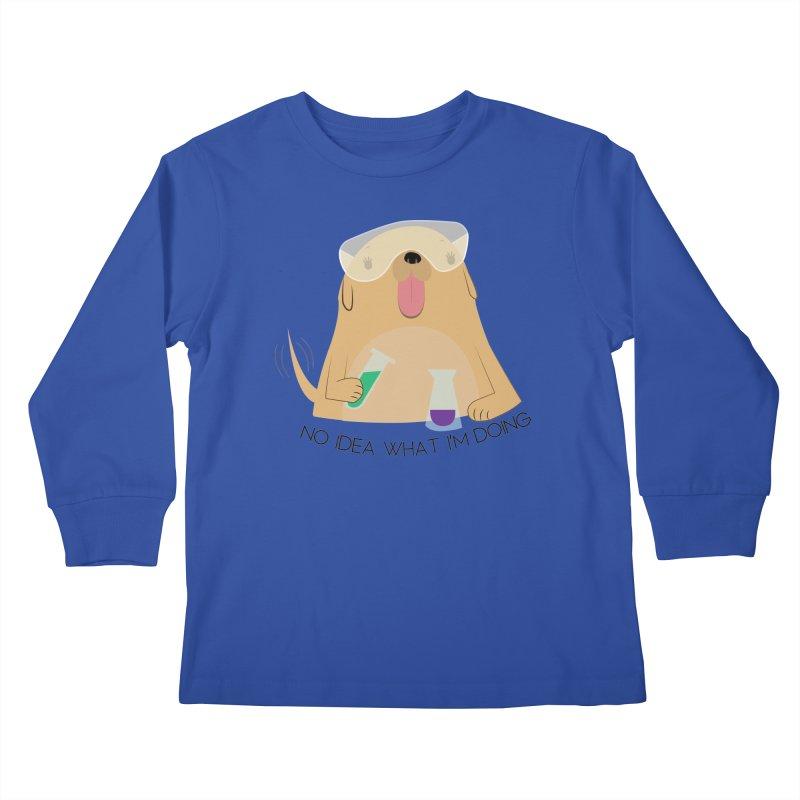 No idea Kids Longsleeve T-Shirt by daniac's Artist Shop