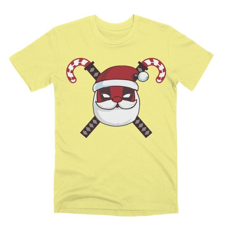Deadpool Claus Men's Premium T-Shirt by daniac's Artist Shop