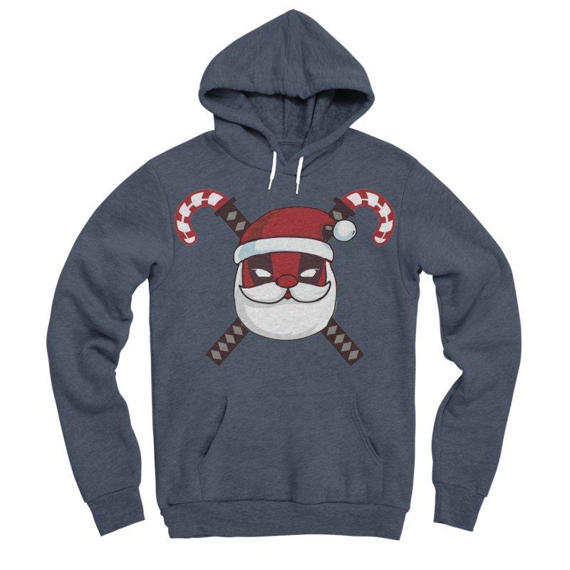 Deadpool Claus Women's Sponge Fleece Pullover Hoody by daniac's Artist Shop