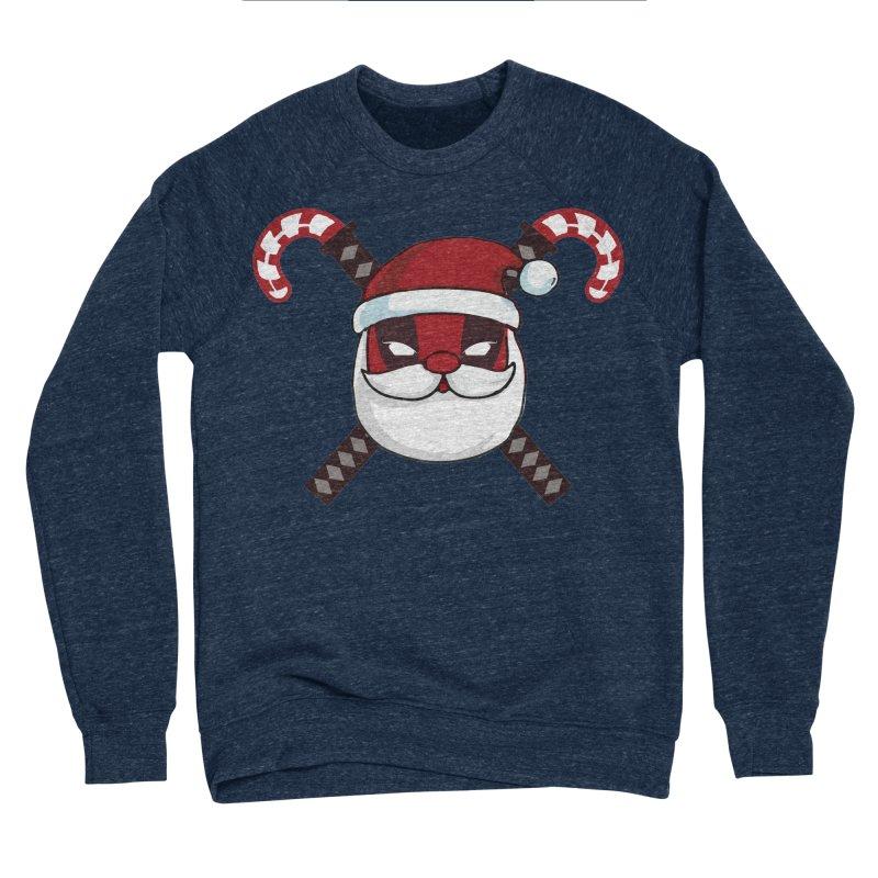 Deadpool Claus Women's Sponge Fleece Sweatshirt by daniac's Artist Shop