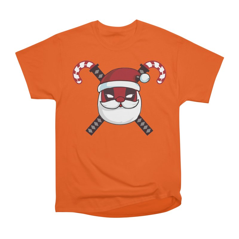 Deadpool Claus Women's T-Shirt by daniac's Artist Shop