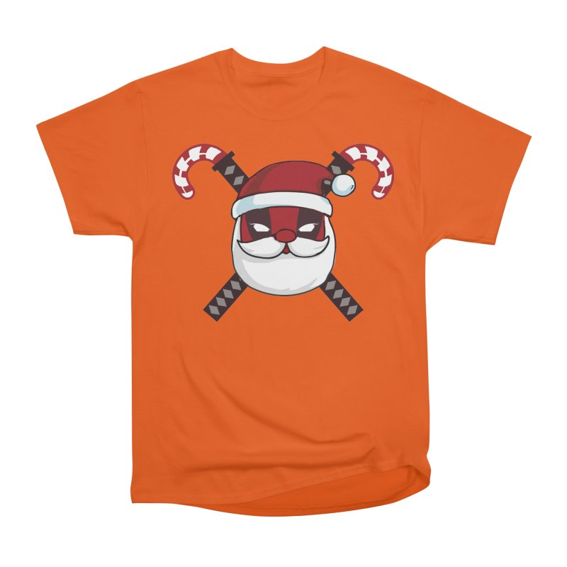 Deadpool Claus Women's Heavyweight Unisex T-Shirt by daniac's Artist Shop