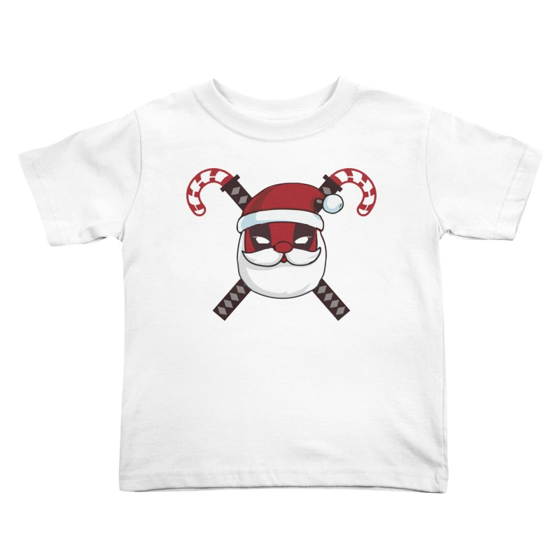 Deadpool Claus Kids Toddler T-Shirt by daniac's Artist Shop