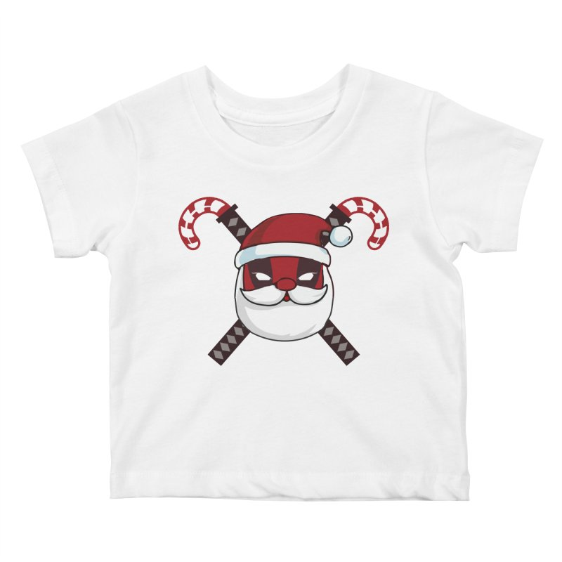 Deadpool Claus Kids Baby T-Shirt by daniac's Artist Shop