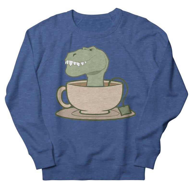 Tea Rex Men's Sweatshirt by daniac's Artist Shop