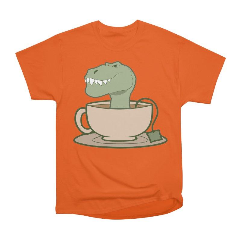 Tea Rex Women's Heavyweight Unisex T-Shirt by daniac's Artist Shop