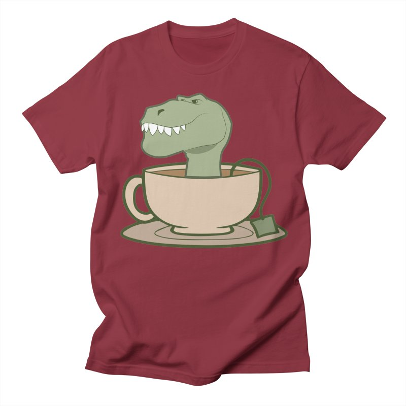 Tea Rex Women's Regular Unisex T-Shirt by daniac's Artist Shop