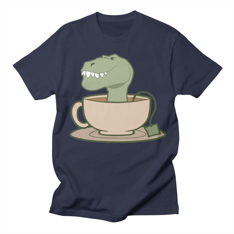 Tea Rex Women's Regular Unisex T-Shirt by daniac's Artist Shop